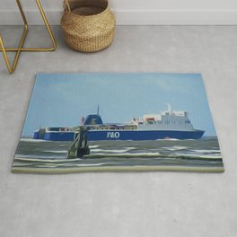 Isle of Man Ferry Rug