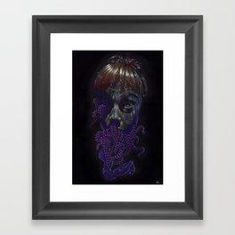 Corinne2, Infestation Framed Art Print