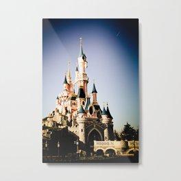 Disney Paris Metal Print
