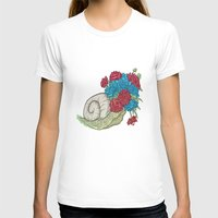 snail T-shirts featuring Snail by Guapo