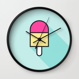 Summer Treat Wall Clock