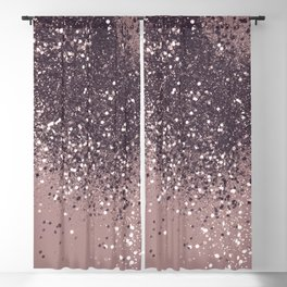 Sparkling Mauve Lady Glitter #3 #shiny #decor #art #society6 Blackout Curtain