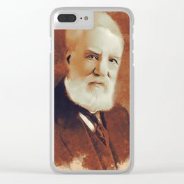 Alexander Graham Bell, Inventor Clear iPhone Case