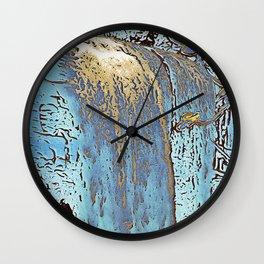 "series waterfall ""Cachoeira Grande"" III Wall Clock"