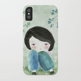 Nature, my soul iPhone Case