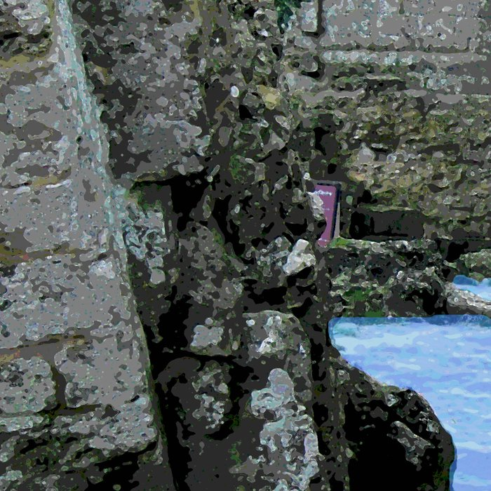 Then the sea crept in... Leggings