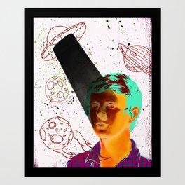 ALIENS BRO! Art Print