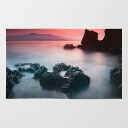 Sunset at sea VII Rug