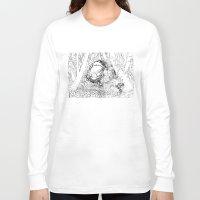 jungle Long Sleeve T-shirts featuring Jungle by Tayfun Sezer