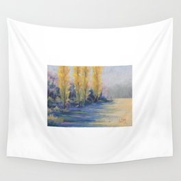 Les peupliers Wall Tapestry