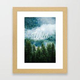 Into The Wild Framed Art Print
