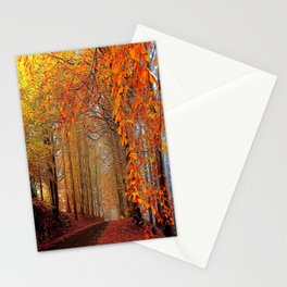 Autumn Parade Stationery Cards