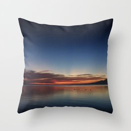 End of Day 3 Throw Pillow
