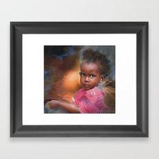Hour Of Need Framed Art Print