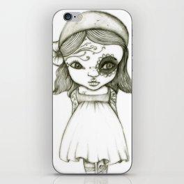 Tattooed Girl iPhone Skin