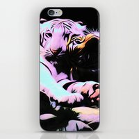 tigers iPhone & iPod Skins featuring tigers by Emmy Winstead