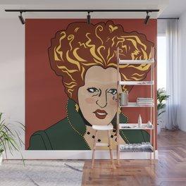SAD GIRLS CLUB MEMBER WINIFRED SANDERSON Wall Mural