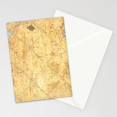 Golden Diamonds of India Stationery Cards