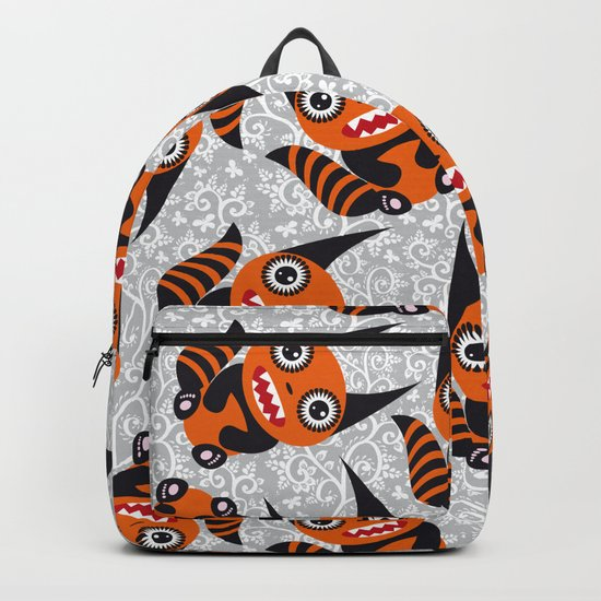 Funny orange monster by ekaterinap
