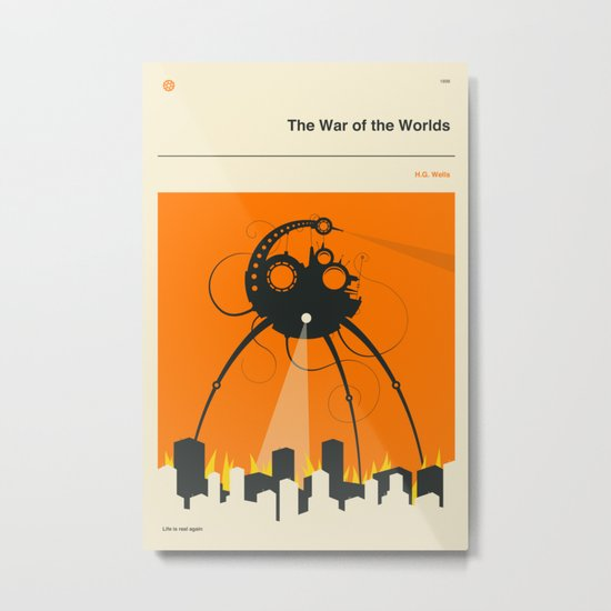 THE WAR OF THE WORLDS Metal Print
