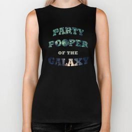 Party Pooper of the Galaxy Biker Tank
