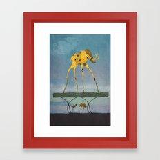 Dalimt Prehistoric Fantasy Framed Art Print