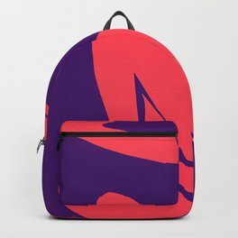 The Blue Nude in Sunset by Henri Matisse Backpack