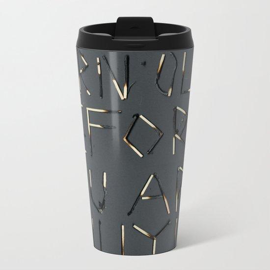 LIT Metal Travel Mug