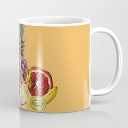 Fresh Fruits summer Selection - orange Coffee Mug