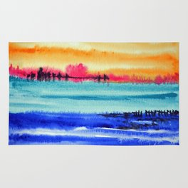 Sunset beauty Rug
