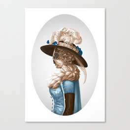 Madam Moth Canvas Print