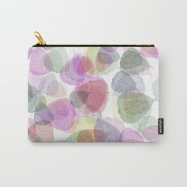 Rainbow Sugarcoat Leaves Carry-All Pouch