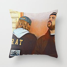 Jay and Silent Bob x Chillin Throw Pillow