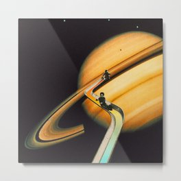 Saturn escape Metal Print