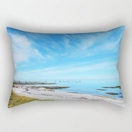 Big Blue Calm Rectangular Pillow