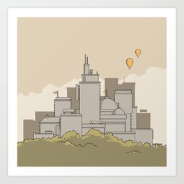 City #3 Art Print
