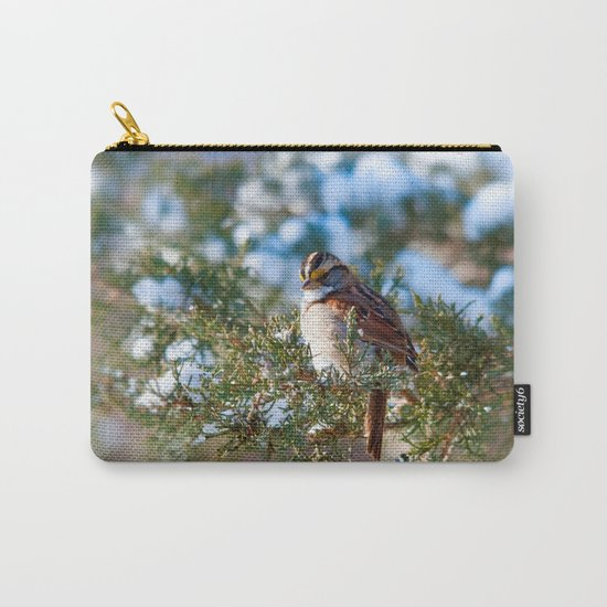 Sunlight Sparrow Carry-All Pouch