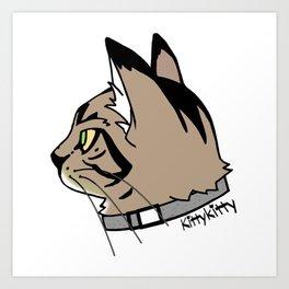 KittyKitty Art Print