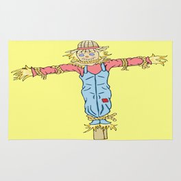 Happy Scarecrow Rug