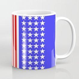 USA Flag Abstract Stars And Stripes Coffee Mug