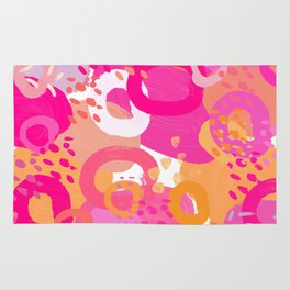 June Abstract Rug