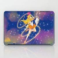 sailor venus iPad Cases featuring Sailor Venus  by Moonsia