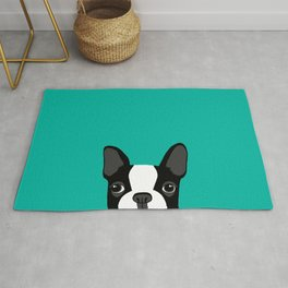 Boston Terrier Rug