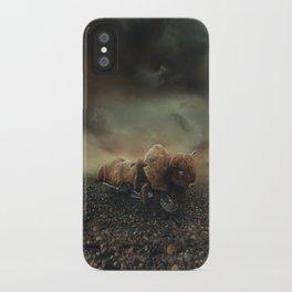 Besetting sin of progress iPhone Case