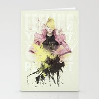2ne1 Stationery Cards featuring 2NE1 - CL by Margot Park