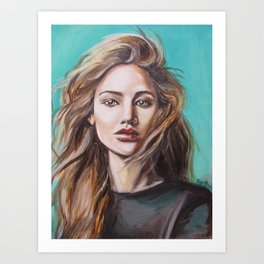Jennifer Art Print