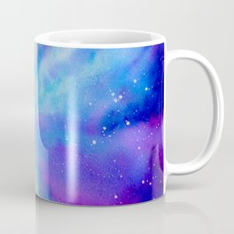 Watercolor Painting of Nebula Coffee Mug