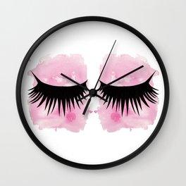 Eyes 3 Wall Clock