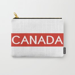 Canada (Stripe) Carry-All Pouch