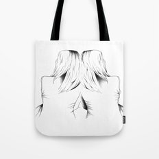 in a dream we're connected Tote Bag